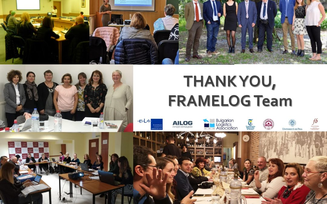 FRAMELOG Project – Final Transnational Meeting in Milan (IT)